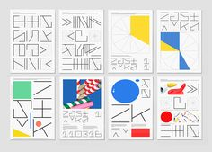 Typographic tests and visual experiments from designer Jozef Ondrik | It's Nice That