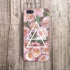 VINTAGE iPhone 4s case FLORAL Phone Case Floral by casesbycsera