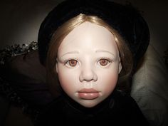 """CHRISTINE ORANGE LIMITED ED. GORGEOUS """"ANGELA"""" IN ORIG OUTFIT 38"""" #129 OF1000 #Dolls"""