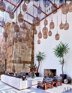 CHIC COASTAL LIVING: Cindy Crawford & George Clooney's Mexican Beach Houses