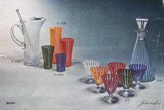 bengt_orup_1916_1996, Strikt, formgivna mellan 1952 - 1953 Retro Design, Scandinavian, Retro Vintage, Antiquities, Glass, Painting, Art, Art Background, Antiques