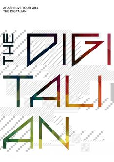 Arashi - live tour 2014 The Digitalian (video) 2015 Japan Post, Music Covers, The Digitalian, Tours, Things To Sell, Scale, Graphic Design, Album, Jacket