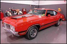 1970 Oldsmobile Cutlass W31  350/325 HP, 4-Speed