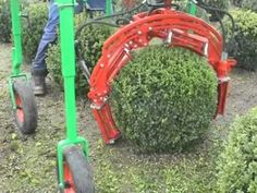 That's right, robots that shape topiaries. Robots are cool.