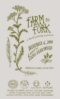 makers workshop: Farm to Fork