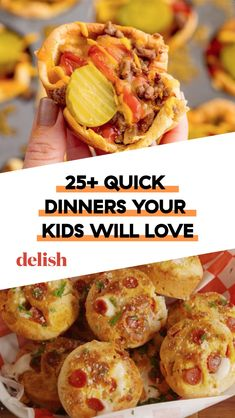 Crazy Good, Quick Dinners For Kids These will squash your kids' urges to feed their dinners to the dog. Quick Dinner For Kids, Good Quick Dinners, Easy Meals, Cheap Dinners, Budget Dinners, Pasta Dinners, Smoothies, Tomato Nutrition, Kids Meals