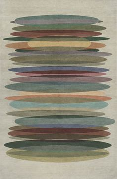 Tall Stack Ivory Tibetan Hand Knotted Rug Product Image