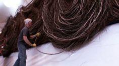 Bending Sticks: the sculpture of Patrick Dougherty (trailer)