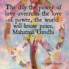 seraphimtherapies:  Wishing you love and peace.