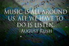 Musik ist überall um uns herum. Alles was wir tun müssen, ist zuhören.