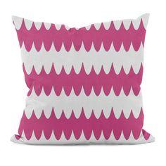 E By Design Geometric Decorative Pillow | AllModern  Also comes in blue and orange.