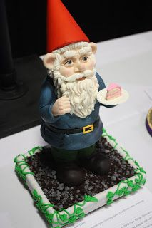 Adventures in Cake Decorating: That Takes The Cake 2012: Garden Gnome