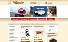 Petshop-Petparadise.ch wurde als professioneller OSCommerce Shop erstellt mit diversen individuellen Modifikationen ausgestattet