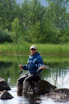 Dry Flies In Forest Sami Country http://www.laplandvuollerim.se/en/packages/summer/fishing/dry-flies-in-forest-sami-country/