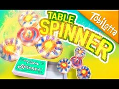 Fidget Spinner DIY Tisch | Fidgetspinner selber machen | Fidgetspinner basteln Tobilotta 110 - YouTube