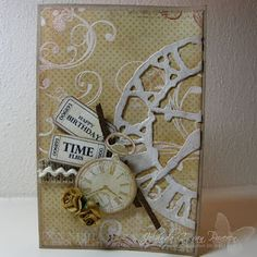 Pretty, could be adapted for masculine card