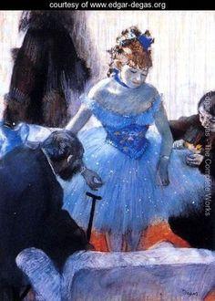 Dancer's Dressing Room    Edgar Degas