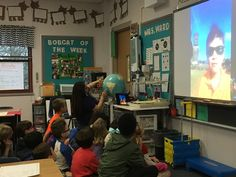 Ward's class received a special call from their traveling classmate on his stop in Easter Island. He FaceTimed from right outside the Moai statues (THE REAL version of our BPE paper mache. Easter Island, Pinterest Board, Elementary Schools, Curriculum, Learning, Live, Blog, Resume, Primary School