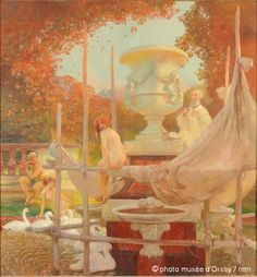 Gaston de LaTouche (1854-1913) French Impressionist