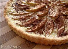 PANELATERAPIA - Blog de Culinária, Gastronomia e Receitas: Torta Light de Maçã com Canela
