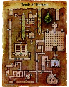 Tomb of Horrors Tomb Of Horrors, Sci Fi Models, Fantasy Landscape, Dungeons And Dragons, City Photo, Trivia, Landscapes, Books, Paisajes