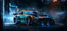Art-Spire, Source d'inspiration artistique   Les incroyables designs de voitures de Khyzyl Saleem