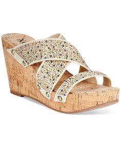 13c79561027a XOXO Belicia Platform Wedge Sandals   Reviews - Sandals   Flip Flops -  Shoes - Macy s