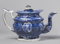 Teapot Made by James and Ralph Clews c. 1830
