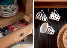 Armário antigo, cantinho na cozinha, espaço extra na área de serviço. A despensa se reinventa, acumula funções – louceiro, uma delas – e quer ser notada