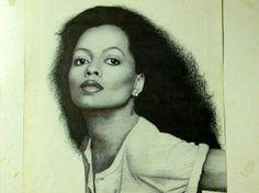 Diana Ross artwork