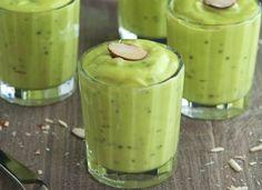 vanilla honey avocado chia pudding