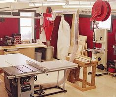 Paul Amberg knew he wanted a well-equipped workshop when he retired, but he didnt't want to wait that long to have his fun. So he built it 20 years early.