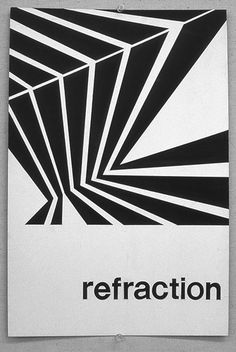 Student Graphic Design - the depth and simplicity one can achieve with lines is fascinating