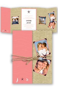Bahama Breeze Wedding Invitation by David's Bridal