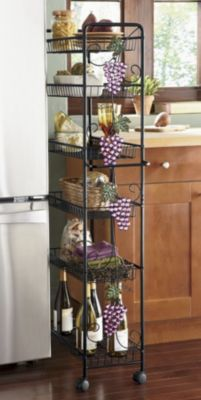 Grape Beaded Pantry Bright Acrylic Beads And Hand Painted Metal Leaves Make This Piece An Purple Kitchenwine Decorthe