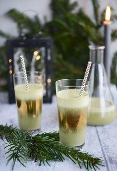 Christmas Creamy Smoothie » Mixer Deshydrater Crudites