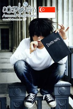 L Cosplay | Death Note – L Cosplay