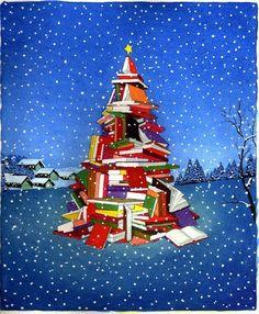 Ed eccoli qui, i primi alberelli di Natale sulle copertine delle novità in libreria...