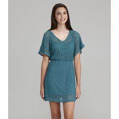 Ruby Rox Lace Dress | Dillards.com via Polyvore