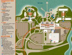 Bay Lake Tower at Disney's Contemporary Resort Map Disney Map, Disney World Map, Walt Disney, Disney Stuff, Disney Parks, Disney 2017, Disney Food, Disney Vacation Club, Disney Vacations