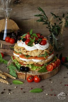 Intrusa na Cozinha: Tomato Layer Cake Cake Sandwich, Food Photography, Layers, Layer Cakes, Baking Center, Layering, Cooking Photography