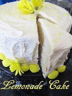 Purple Chocolat Home: Lemonade Cake