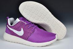 Nike Roshe Run Womens Laser Purple White Sail 511882 501           #sport #shoes