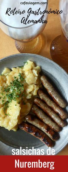Dicas de lugares para provar as melhores salsichas de Nuremberg na Alemanha. E ainda, um pouco da história deste prato patrimônio de Nuremberg