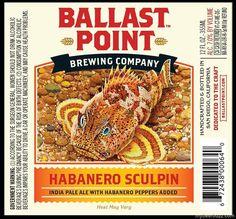 Ballast Point to Launch Habanero Sculpin IPA - Beer Street Journal