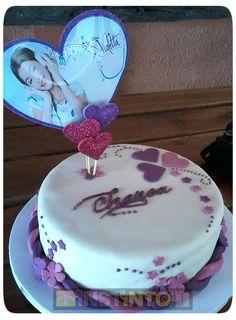 Torta de cumpleaños Violetta