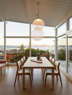 When an architect set out to redo her house in the Bay Area, she envisioned a small project. It took her old intern to persuade her to dream bigger. Brooklyn Apartment, Dining Table, Dining Rooms, Building A House, Real Estate, Simple, York, Times, House Ideas