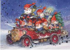 Funny Gnomes Car