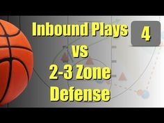 Triangle Motion Offense vs. 2-3 Zone Defence - YouTube