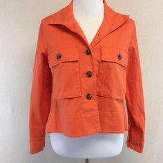 Cabi 5098 XS Resort Jacket Tiger Lily Orange Light Fall   eBay